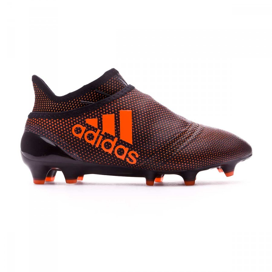 2936b06bc3c Football Boots adidas Kids X 17+ Purespeed FG Core black-Solar red-Solar  orange - Football store Fútbol Emotion