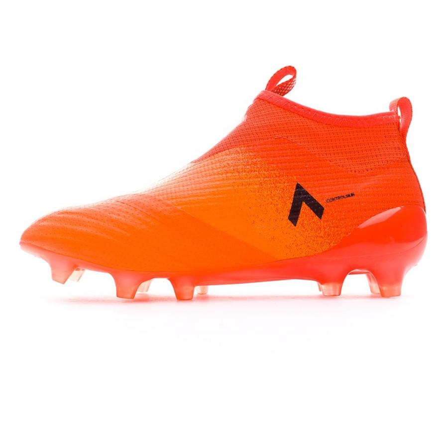 4432c31535e14 Zapatos de fútbol adidas Ace 17+ Purecontrol FG Niño Solar orange-Core  black-Red - Tienda de fútbol Fútbol Emotion