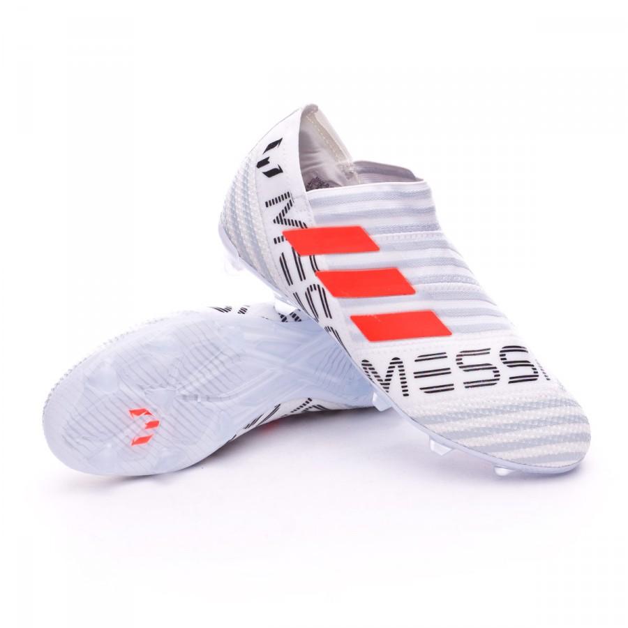 Nemeziz Messi 17+ 360 Agility FG Niño White-Solar orange-Clear grey 0eaaadcc698d3