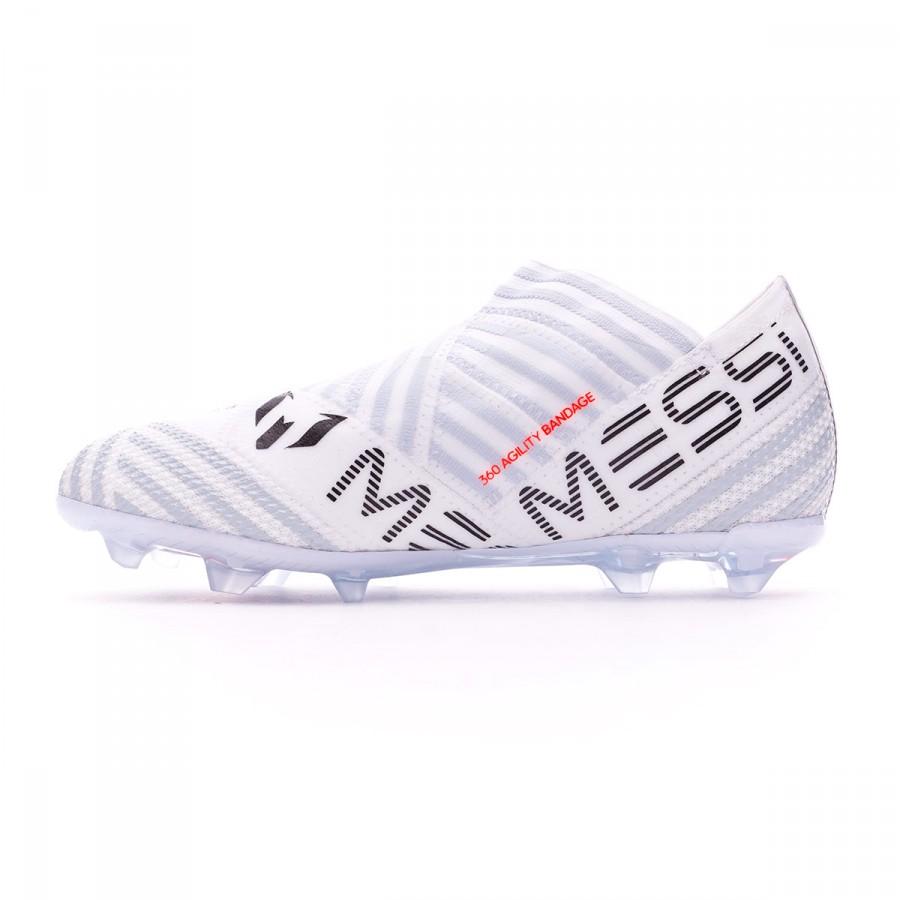 f4a6d7a8fa1 ... Bota Nemeziz Messi 17+ 360 Agility FG Niño White-Solar orange-Clear grey.  CATEGORY. Football Boots · adidas boots