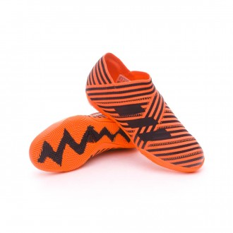 Sapatilha de Futsal  adidas Jr Nemeziz Tango 17+ 360 Agility IN Solar orange-Core black