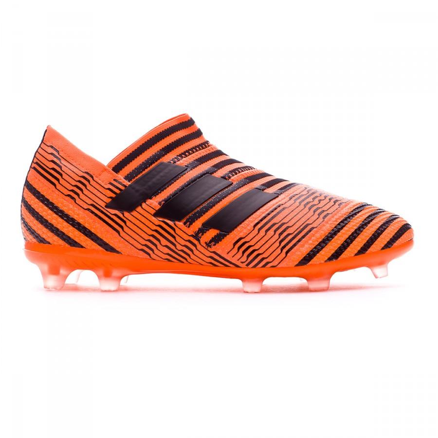 3e56ed568d21 Football Boots adidas Kids Nemeziz 17+ 360 Agility FG Solar orange-Core  black-Solar red - Tienda de fútbol Fútbol Emotion
