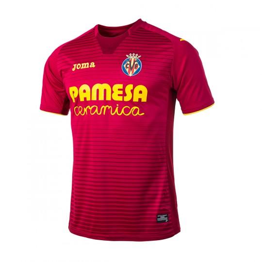 Camisola  Joma Villarreal CF Alternativo 2017-2018 Vermelho