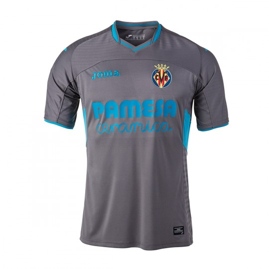 Camisola  Joma Villarreal CF 3ª Equipación 2016-2017 Cinza