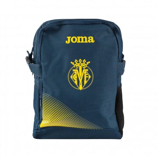 Mochila  Joma Villarreal CF 2017-2018 Azul Marinho-Amarelo