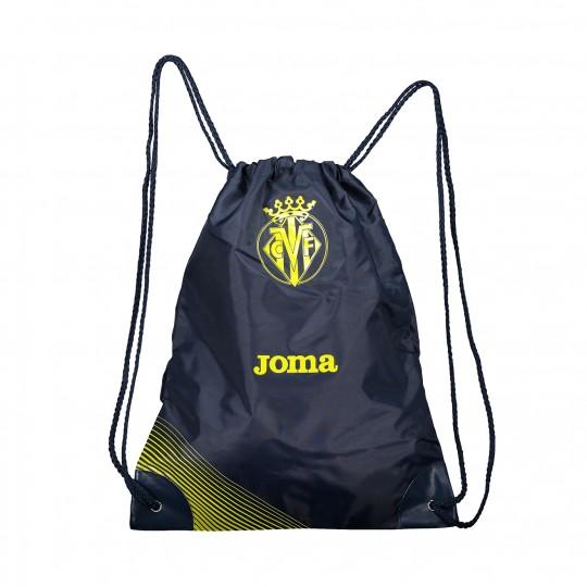 Bolsa  Joma Gymsack Villarreal CF 2017-2018 Azul Marino-Amarillo