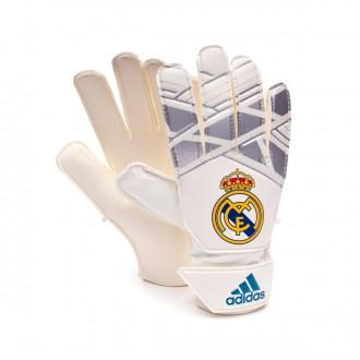 Luvas  adidas Young Pro Real Madrid Vivid teal-Silver metallic-White