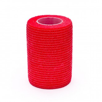 Tape  Rehab Medic Sujeta-Espinilleras (7,5cm x 4,6m) Rojo
