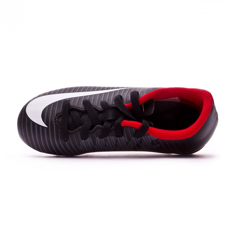 Boot Nike Kids Mercurial Vortex III FG Black-White-Dark grey ... d435b24a4142