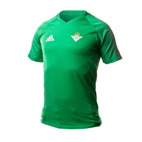 Camiseta  adidas Real Betis Training 2017-2018 Green-Black-White