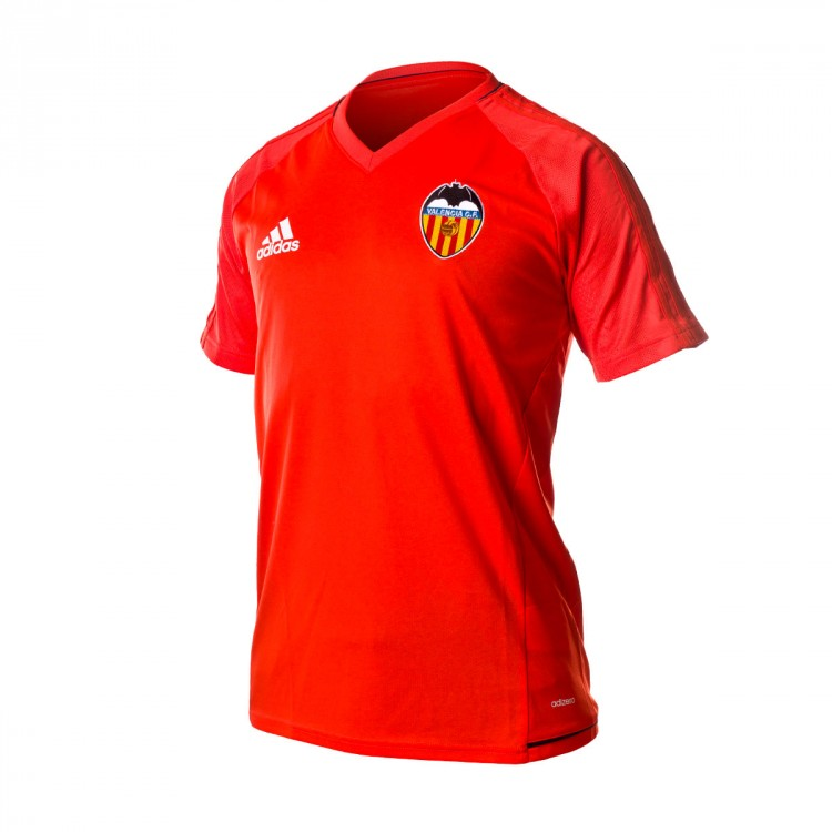 buy popular 14757 1cc40 Camiseta Valencia CF Training 2017-2018 Energy-Collegiate navy-White