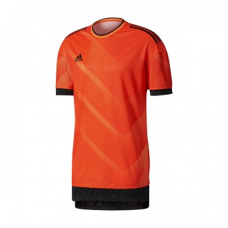 Camiseta  adidas Tango Future Semi solar orange-Black