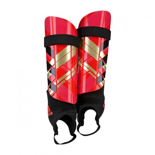 Espinillera  adidas Ghost Reflex Solar red chrome-Core red-Black