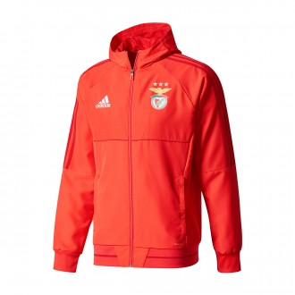 Chaqueta  adidas SL Benfica 2017-2018 Red