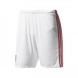 Pantalón corto  adidas SL Benfica Primera Equipación 2017-2018 White-Red