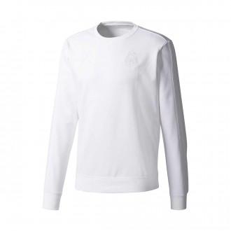 Sweatshirt  adidas Real Madrid CW SWT 2017-2018 White