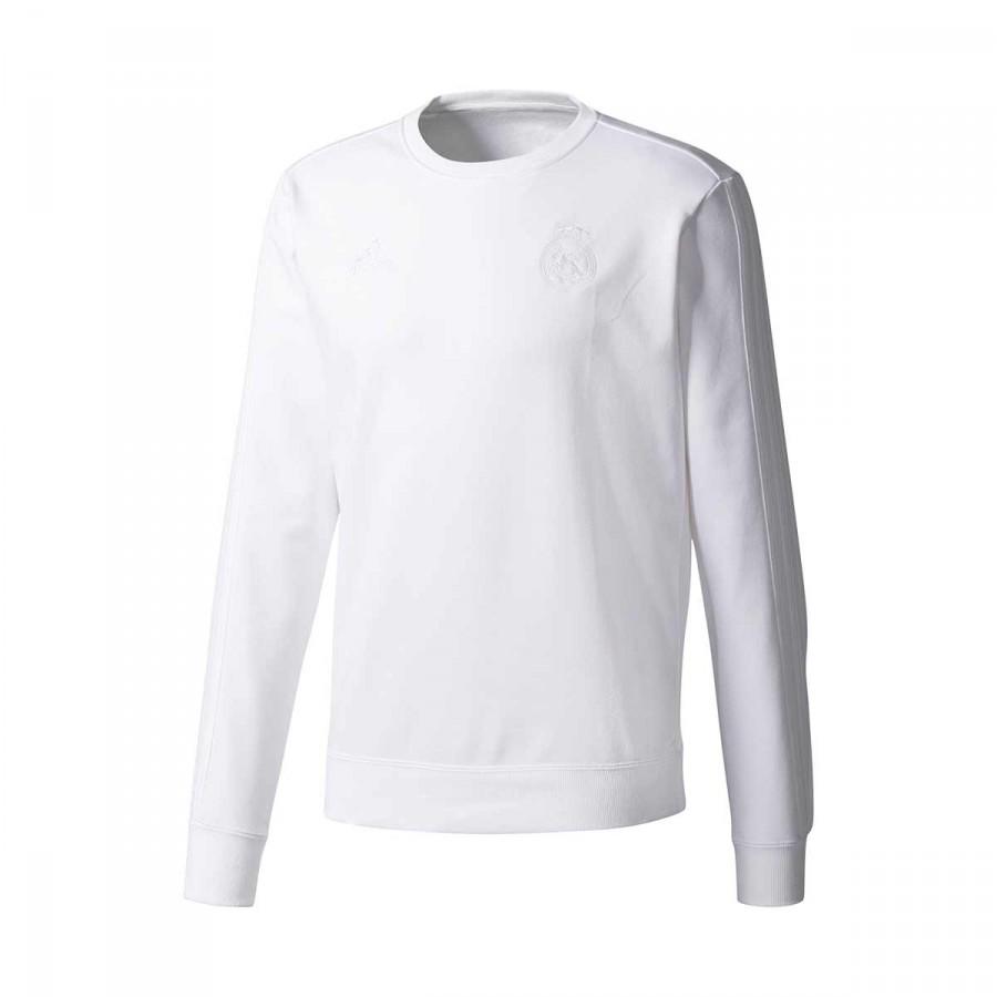Sweatshirt adidas Real Madrid CW SWT 2017-2018 White - Football ... 0870b1df47eab