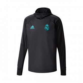 Sudadera  adidas Real Madrid WARM Top 2017-2018 Black