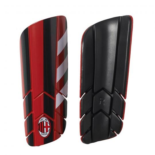 Caneleira  adidas AC Milan Pro Lite 2017-2018 Red-Black