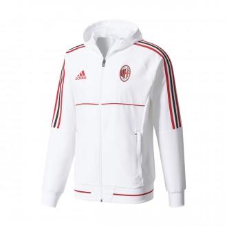 Casaco  adidas AC Milan Pre-Match 2017-2018 White