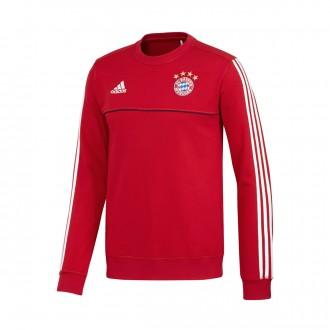 Sweatshirt  adidas FC Bayern Munich Top 2017-2018 Red