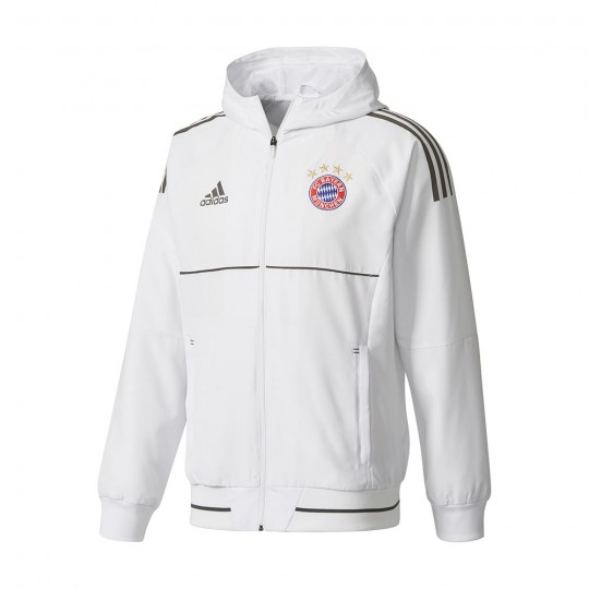 Chaqueta  adidas FC Bayern Munich UCL 2017-2018 White