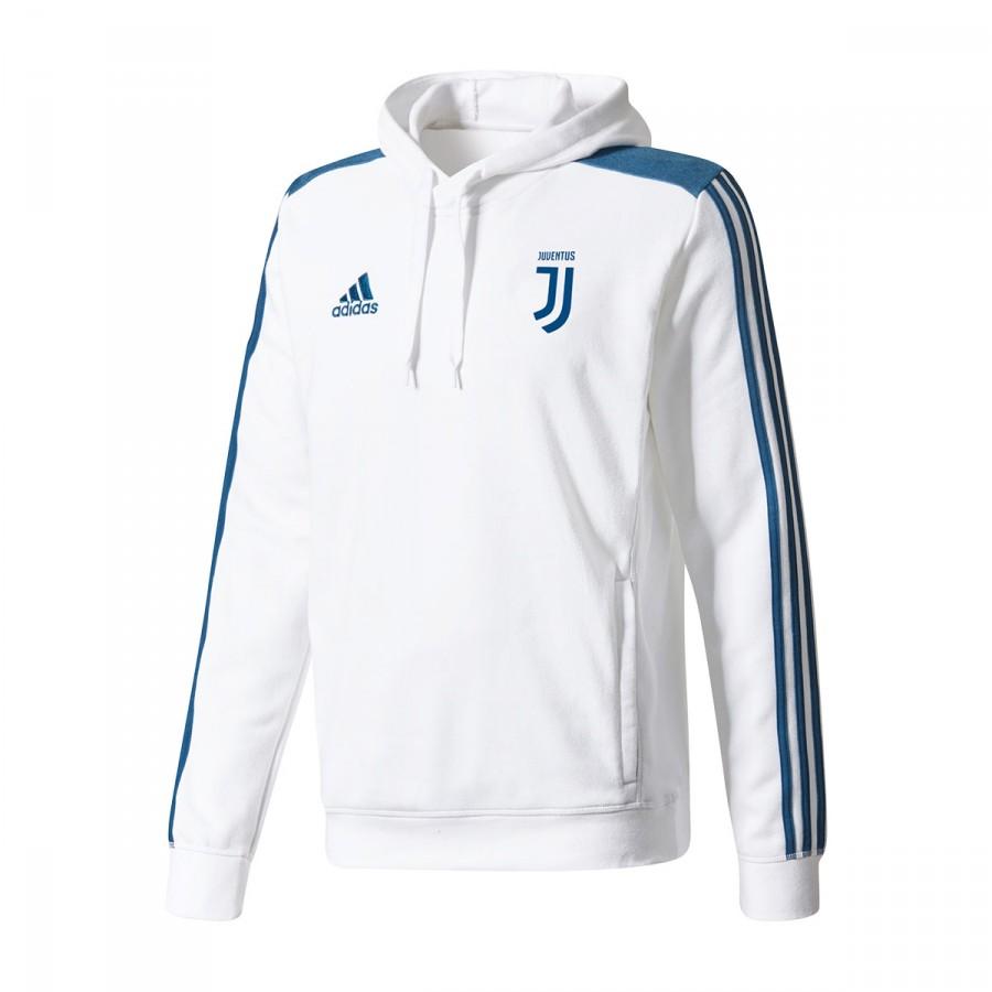 Sudadera adidas Juventus Capucha 2017-2018 White - Soloporteros es ... c3a550fc81bf6