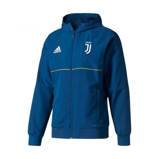 Chaqueta  adidas Juventus Capucha 2017-2018 Blue