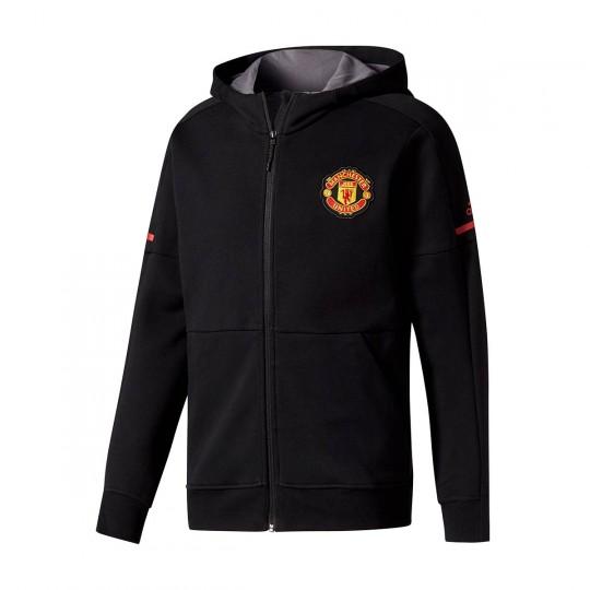 Sudadera  adidas Manchester United FC 2017-2018 Black