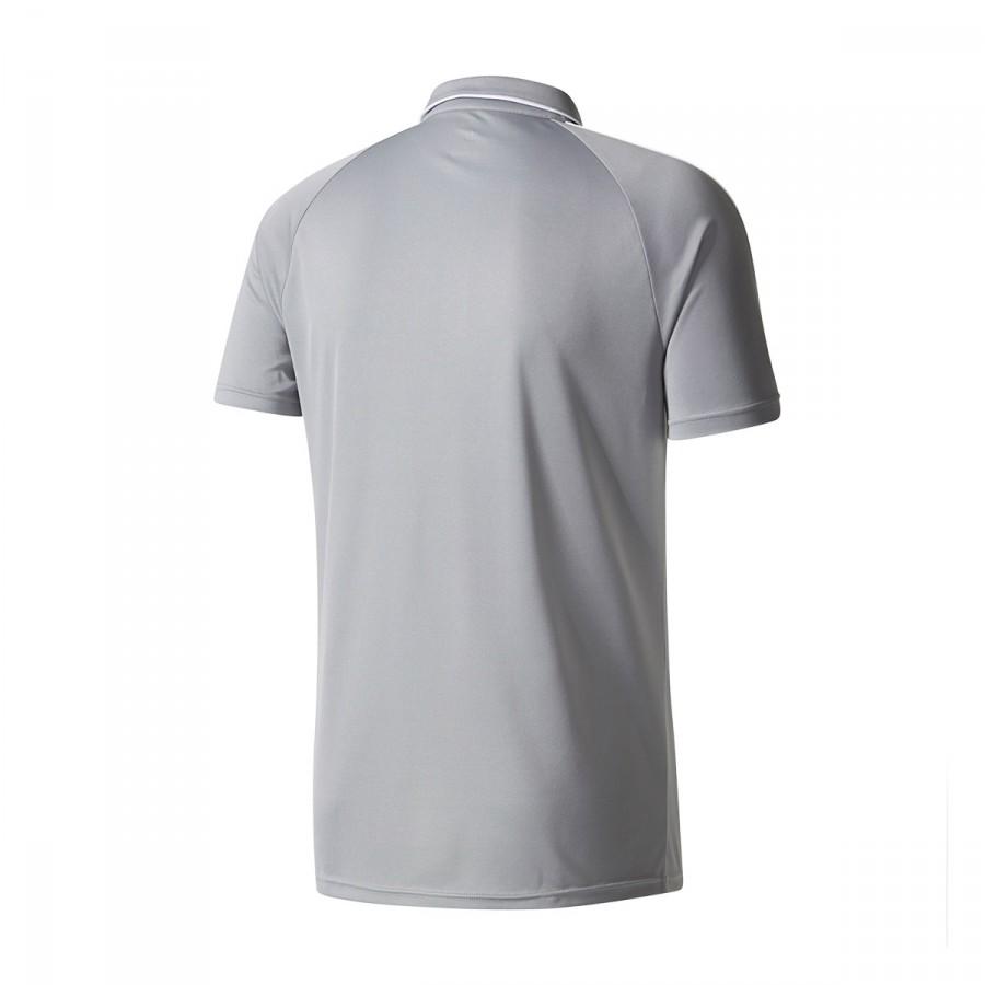 97f223680f6 Polo shirt adidas Manchester United FC 2017-2018 Grey - Football ...