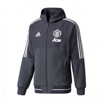 Cazadora  adidas Manchester United FC 2017-2018 Black
