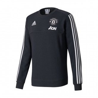 Sudadera  adidas Manchester United FC Top 2017-2018 Black
