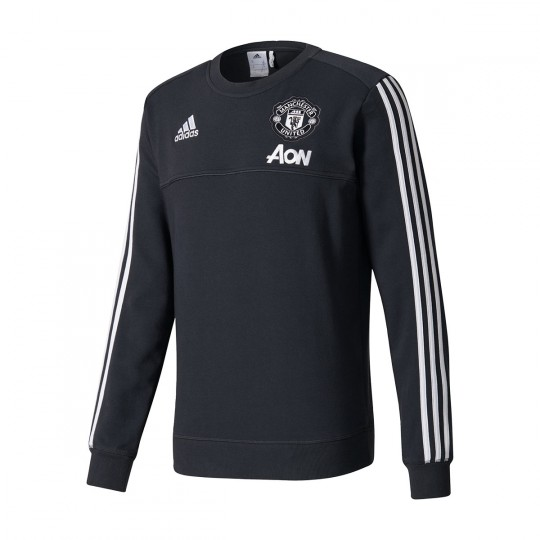 Sudadera  adidas Manchester United FC Top 2017-2018 Black