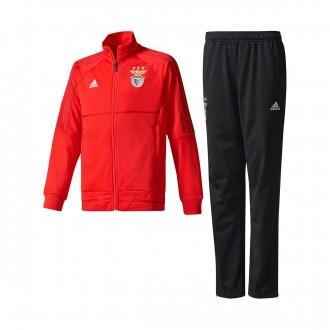 Chándal  adidas SL Benfica 2017-2018 Niño Red-Black