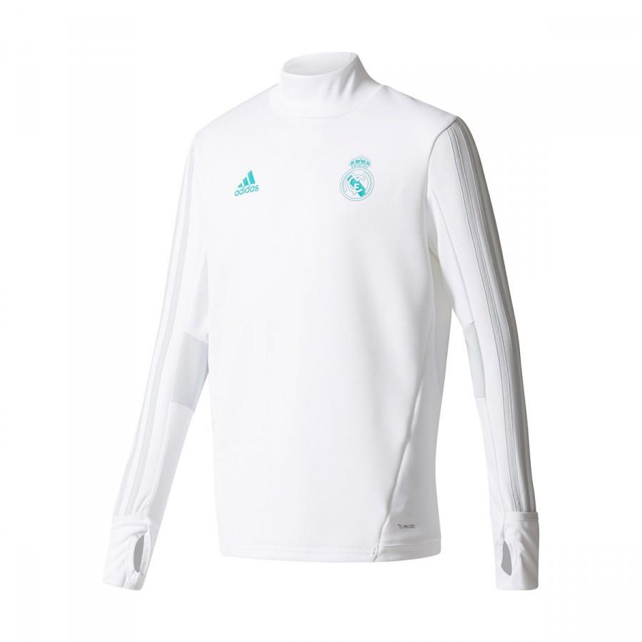fa05faccea0 Sweatshirt adidas Kids Real Madrid Training Top 2017-2018 White ...