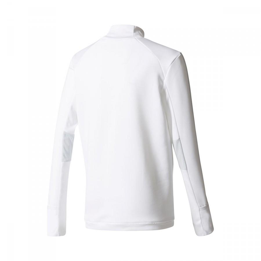 7aea139b8 Sweatshirt adidas Kids Real Madrid Training Top 2017-2018 White-Clear grey  - Tienda de fútbol Fútbol Emotion
