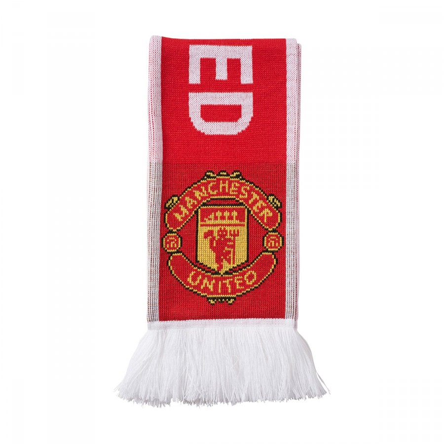 ca5c471a66661 Scarf adidas Manchester United FC 2017-2018 Real red-White - Football store  Fútbol Emotion