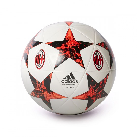 Balón  adidas AC Milan Finale 17 CPT 2017-2018 White-Solar red-Victory red