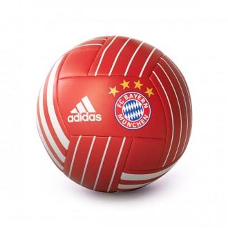 Bola de Futebol  adidas FC Bayern Munich FBL 2017-2018 True red-White