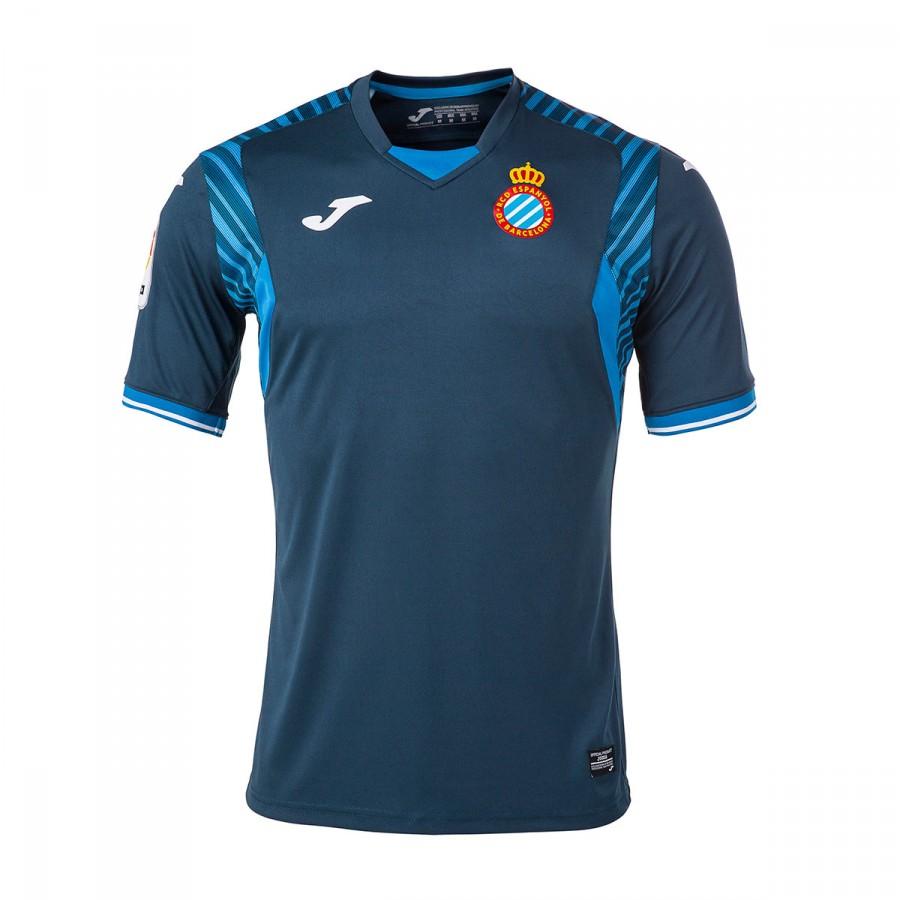 a604dc838e1c5 Jersey Joma RCD Espanyol Away 2017-2018 Navy blue - Tienda de fútbol ...