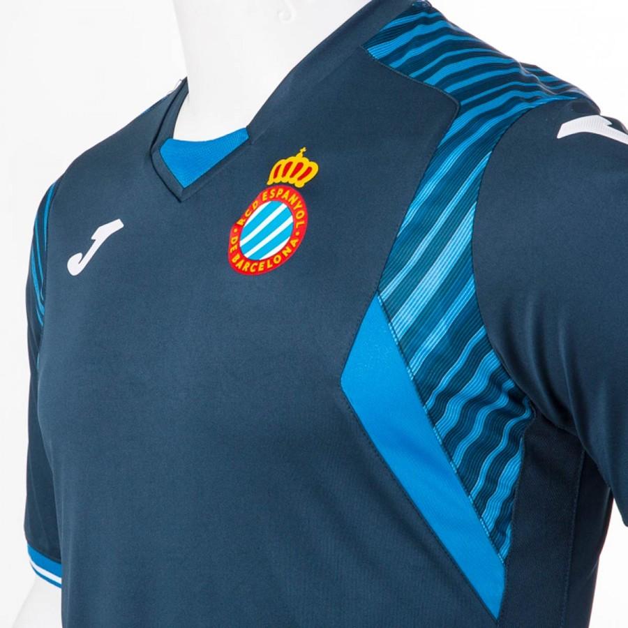 Camiseta Joma RCD Espanyol Segunda Equipación 2017-2018 Azul marino ... f115ce6ebd860