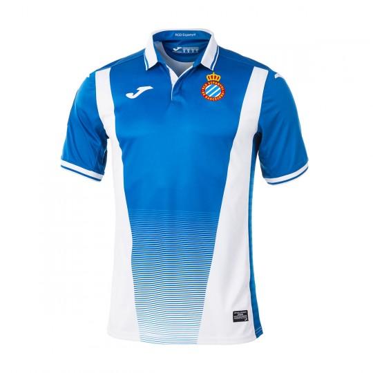 Camiseta  Joma RCD Espanyol Primera Equipación 2017-2018 Azul-Blanco