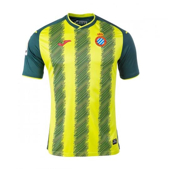 Camiseta  Joma RCD Espanyol Tercera Equipación 2017-2018 Verde-Amarillo