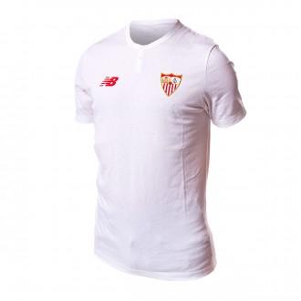 Camisola  New Balance Sevilla FC MC Algodón 2017-2018 White