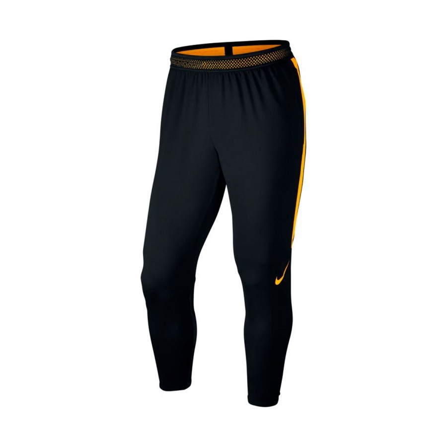 hot sale online 54235 ebdc7 Nike Dry Squad Football Long pants. Black-Laser orange ...