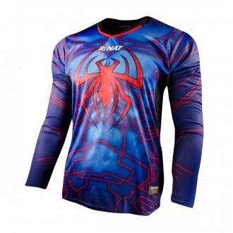 Camiseta  Rinat Aracnik m/l Azul-Rojo
