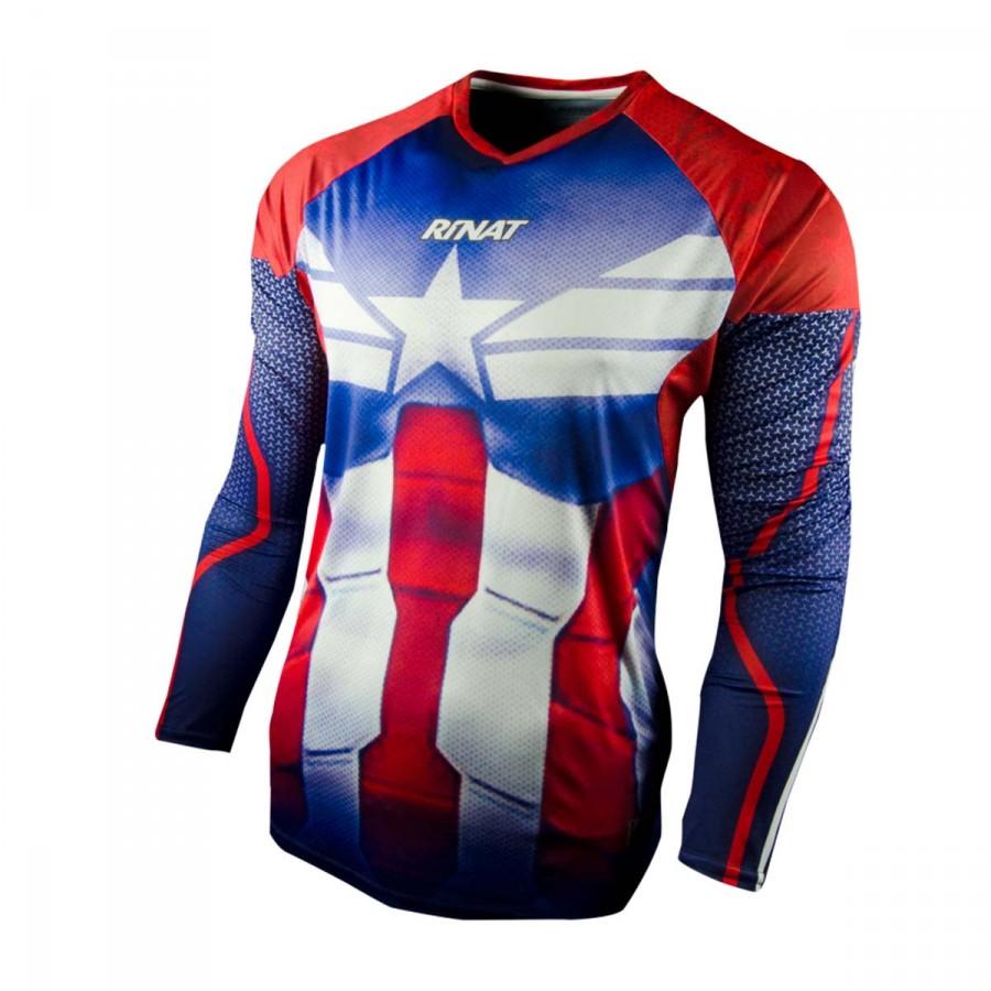 Camiseta Rinat Khapten Azul-Blanco-Rojo - Tienda de Fútbol ...