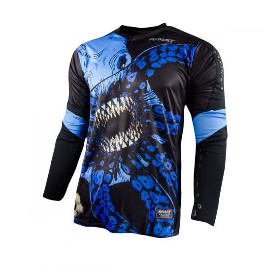 Maillot  Rinat Kraken Noir-Bleu