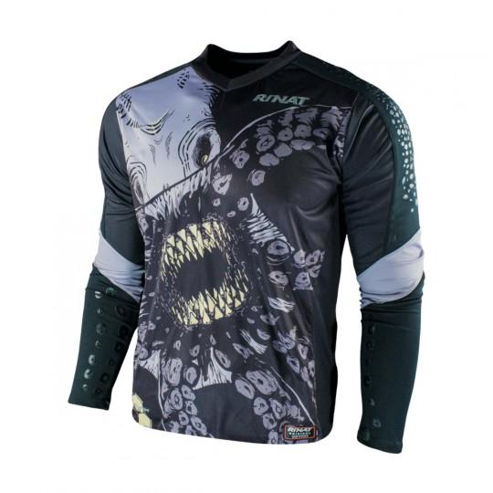 Camiseta  Rinat Kraken Negro-Blanco