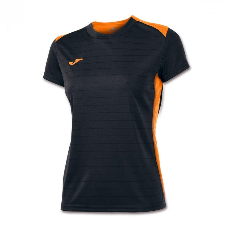 Fluor Mc Naranja Ii Mujer Campus Camiseta 4ALj5R3